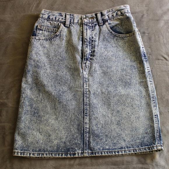 Sasson Jeans Dresses & Skirts - Vintage Sasson Jean Skirt